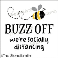 6820 - Buzz Off we're socially distancing