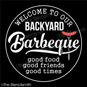 6836 - Welcome to our Backyard Barbeque