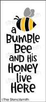6874 - a bumble bee and his honey