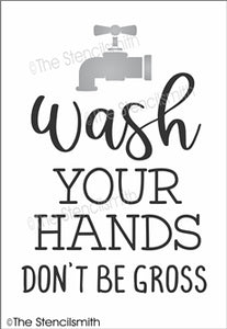 6875 - wash your hands don't be gross