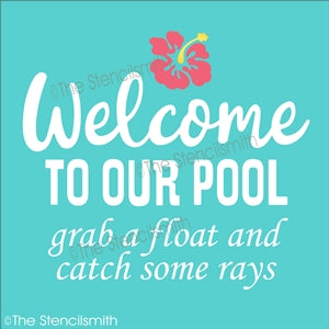 6877 - Welcome to our Pool grab a