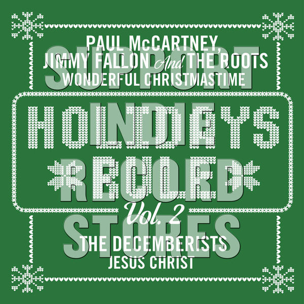 "Paul McCartney - Holidays Rule Vol. 2 GREEN 7"" (RSDBF2017)"