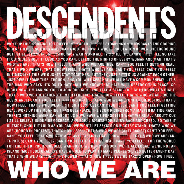 "Decendents - Who We Are 7"" (RSD2018)"