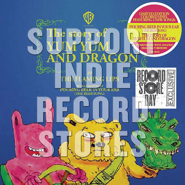 "Flaming Lips, The - The Story of Yum Yum & Dragon 7"" (RSD2018)"