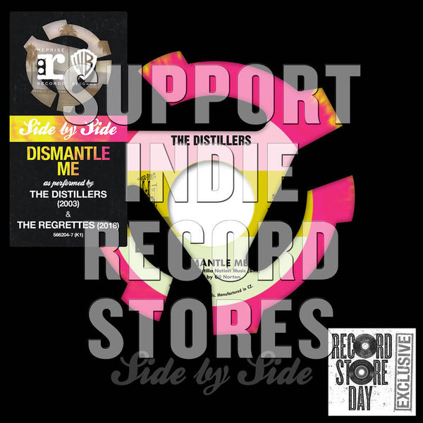 "Distillers/ Regrettes - Dismantle Me 7"" (RSD2018)"