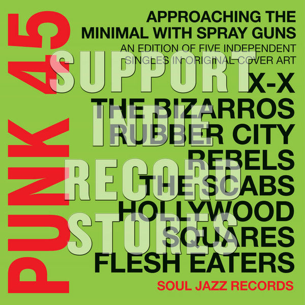 "Various - Punk 45: Approaching The Minimal... 7"" Boxset (RSD2018)"