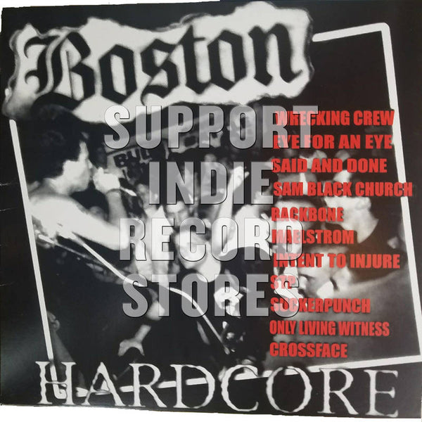 Various - Boston Hardcore 89-91 (RSD2018)