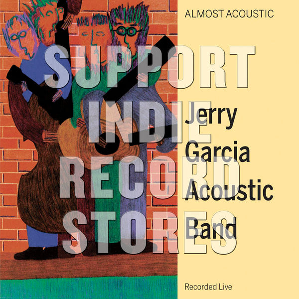 Jerry Garcia Acoustic Band - Almost Acoustic (RSDBF2018)