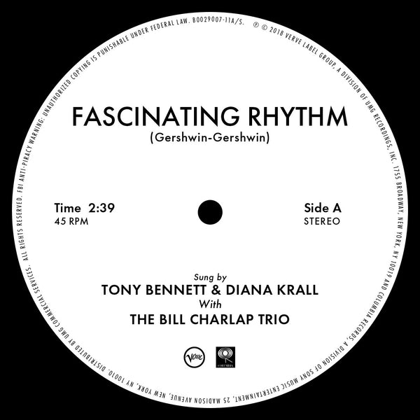 "Tony Bennett/ Diana Krall - Fascinating Rhythm 10"" (RSDBF2018)"