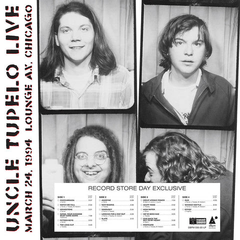 Uncle Tupelo - Live Chicago (RSD2020)