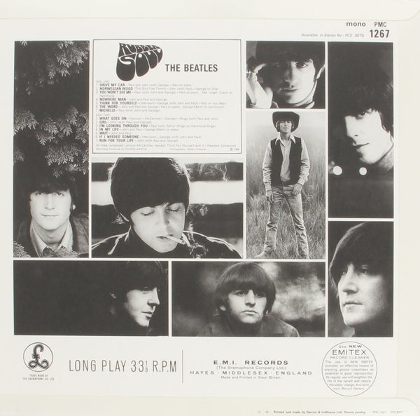 Beatles, The - Rubber Soul (MONO)