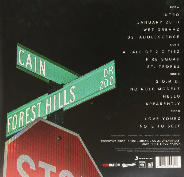 J. Cole - 2014 Forest Drive