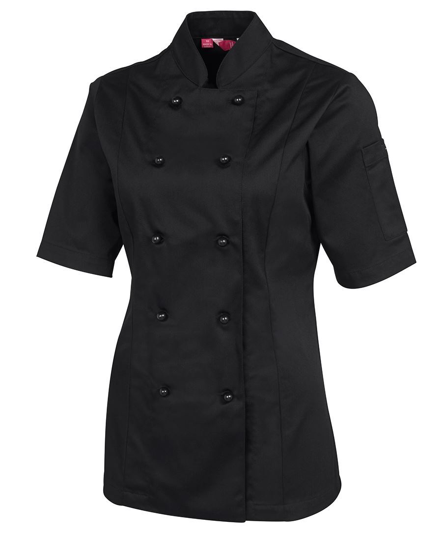 Womens Short Sleeve Unisex Chef's Jacket (20 Items)