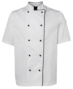 Short Sleeve Unisex Chef's Jacket (20 Items)