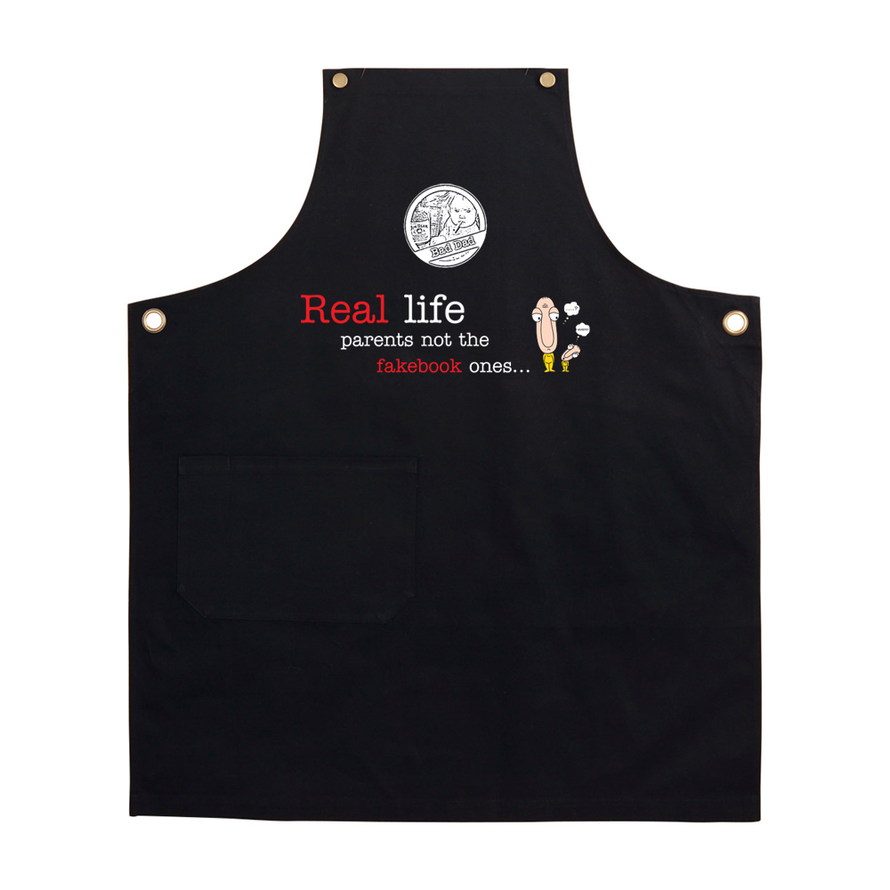 BAD DAD BBQ APRON DESIGN 2