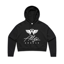 Load image into Gallery viewer, ALLY'S ANGELS & ALPHAS - WOMENS CROP HOODIE