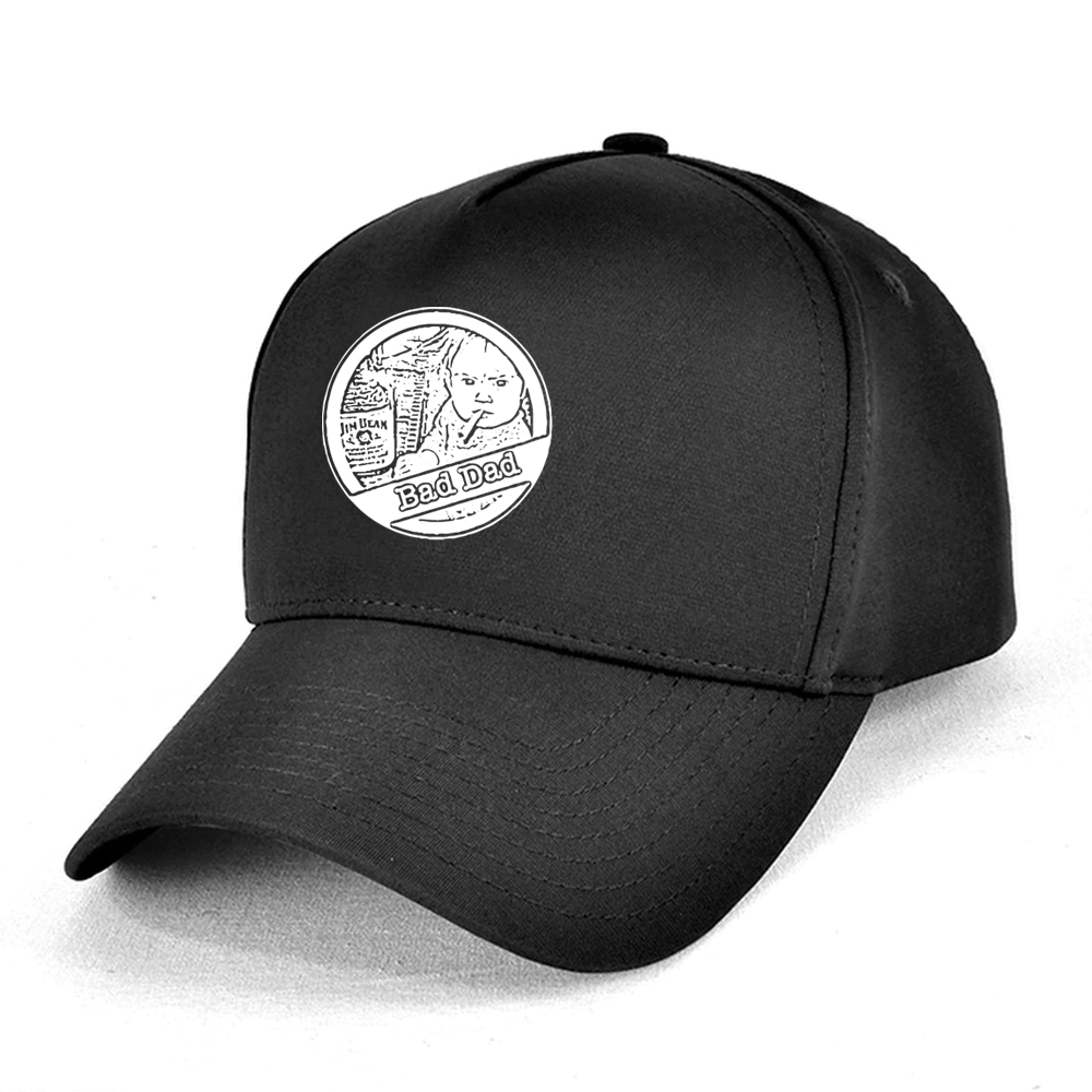 BAD DAD CAP - B&W Logo
