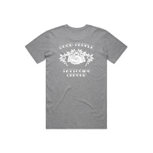 Load image into Gallery viewer, GOOD PEOPLE TATTOOING - GREY T-SHIRT