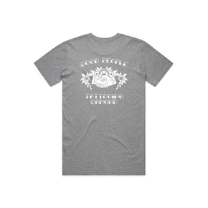 GOOD PEOPLE TATTOOING - GREY T-SHIRT