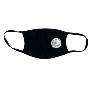 BAD DAD REUSABLE FABRIC FACE MASK - B&W