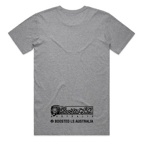 BOOSTED LS AUSTRALIA - TEE - GREY