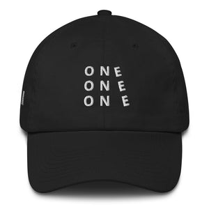 ONE ONE ONE Cotton Cap