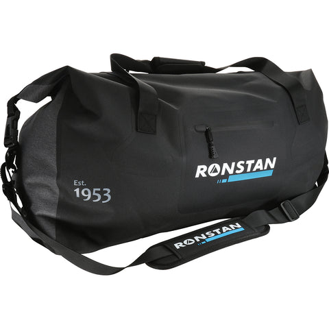 Ronstan Dry Roll Top - 55L Crew Bag - Black  Grey [RF4015]