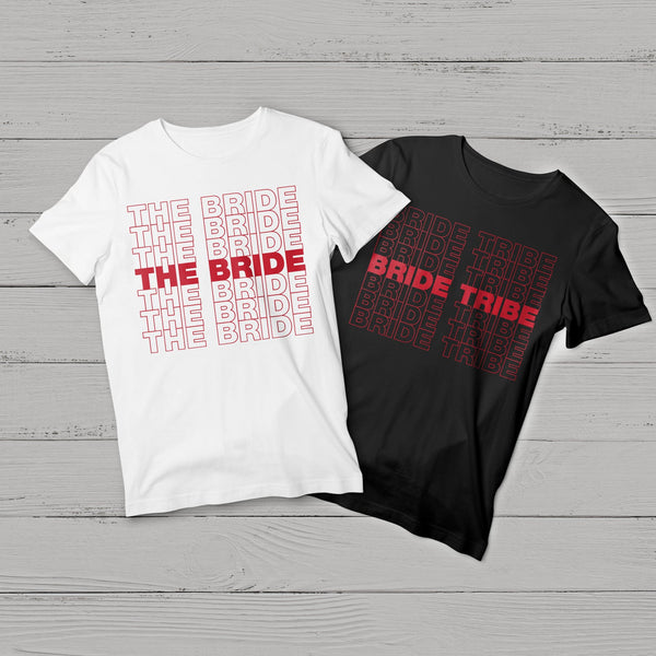 "The Bride Tribe ""Thank You"" T-Shirt"