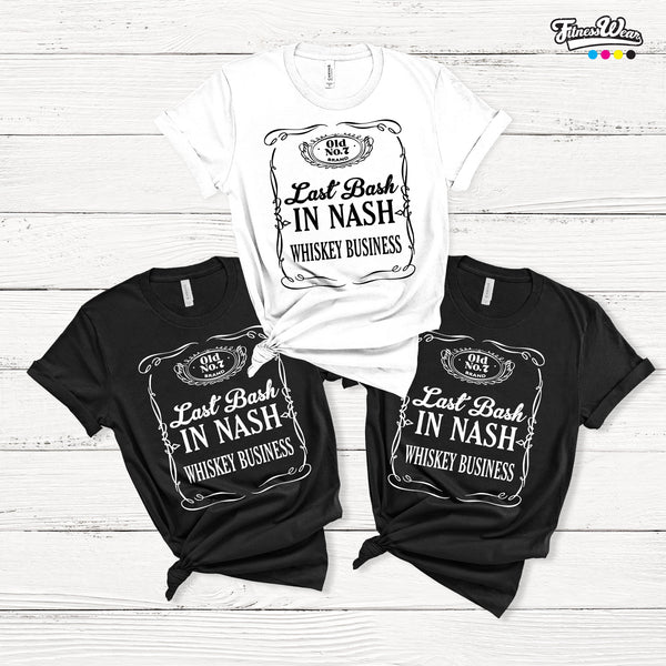 Last Bash In Nash Bachelorette Party T-Shirts
