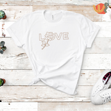 LOVE and ROSE T-Shirt
