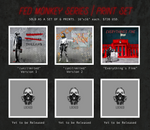 Fed Monkey Series Print Set