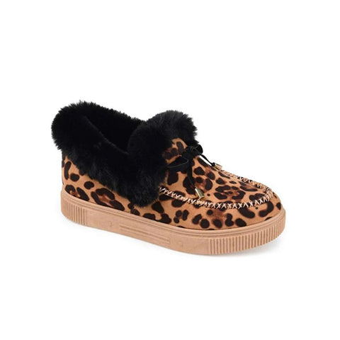 Corashoes Casual Fashion Leopard Moccasins