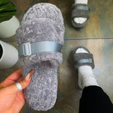 Corashoes Adjustable Strap On Slippers