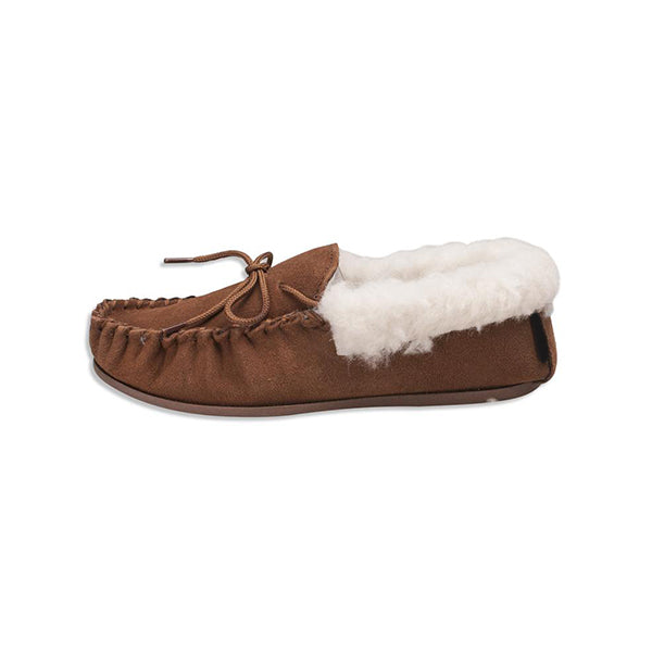 Corashoes Non Slip Sole Lining Suede Leather Slippers