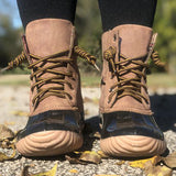 Corashoes Lace-up Comfortable Duck Boots