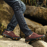 Corashoes Men Outdoor Hiking Wear Resisting Sneakers