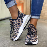 Corashoes Leopard Tennis Sneakers