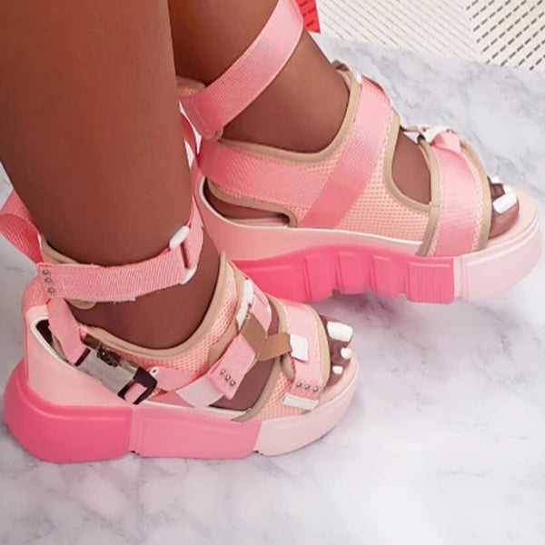 Corashoes Stylish Platform Summer Sandals