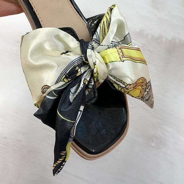Corashoes Satin Ribbon Sandals Slippers