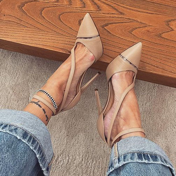 Corashoes Sexy Pointed High Heel Sandals