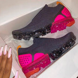 Corashoes Pink Blast Air Cushion Pull On Sneakers