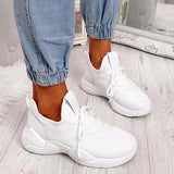 Corashoes Lace-Up Casual Chunky Trainers Sneakers