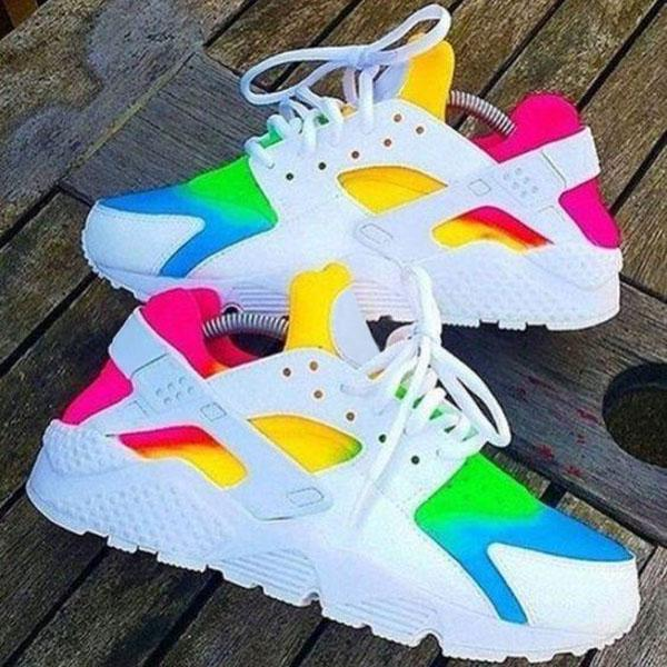 Corashoes Multicolor Lace-Up Sneakers