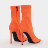 Corashoes Peep Toe Ankle Boots