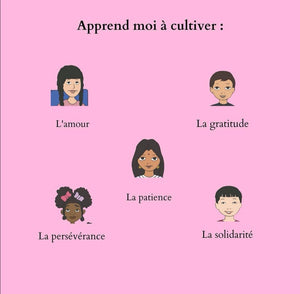 "Little nappy apprend, la série ""comment"""