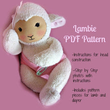 Load image into Gallery viewer, PDF Pattern - Waldorf Lambie