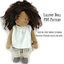 Load image into Gallery viewer, Lali Pop Doll - Kit and pdf Pattern