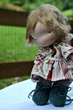 Load image into Gallery viewer, KIT supplies and Pattern for Cupcake Doll