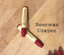 Load image into Gallery viewer, Beeswax Crayon doll making cheek color