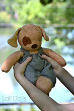 Load image into Gallery viewer, PDF Pattern Waldorf Puppy Dog Doll